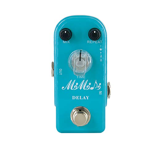 MIMIDI Delay Guitar Effect Pedal Analog Delay Pedal True Bypass