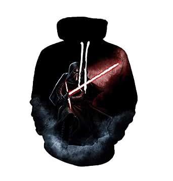 Star Wars Men's Dark Lord Darth Vader Graphic Comfortable long sleeved sweatshirts-L