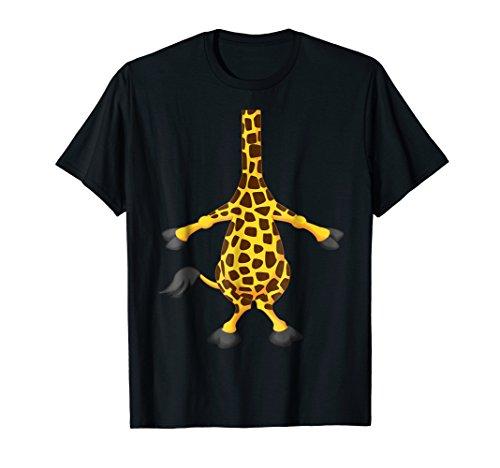 Mens Giraffe Halloween Costume Shirt Easy Funny Women