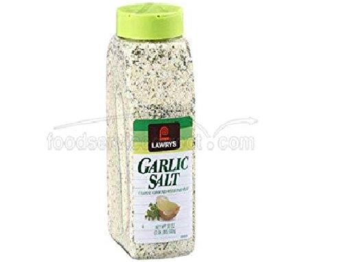 Lawrys Garlic Salt - 33 oz. container, 15 per case