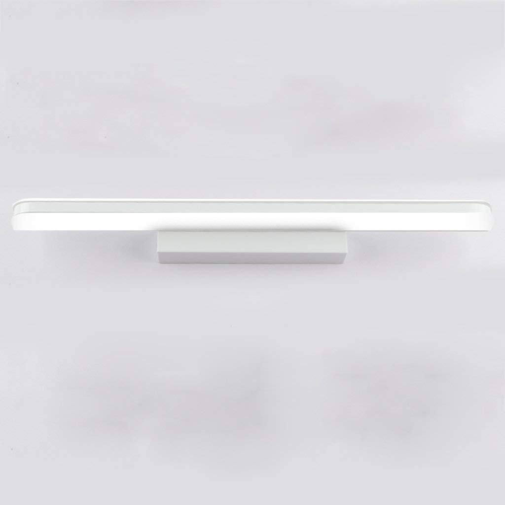 Badewanne Spiegelleuchten Spiegel Vordere Scheinwerfer, Led wasserdicht Beschlagfrei Badezimmer Badezimmer Schminktisch Spiegelleuchte Toiletten wc Beleuchtung (Farbe  weißes Licht-18 W 100 CM)