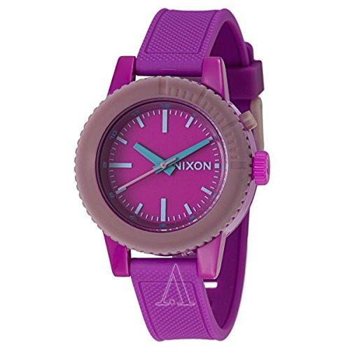 Watch Links Nixon Purple: Nixon Women's A287698 Gogo Purple Rubber