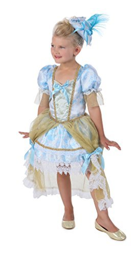 Princess Paradise Girl's Madame Florence Costume, White bluee gold, Small by Princess Paradise
