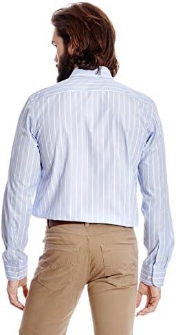 Forecast Camisa Hombre Azul Celeste M: Amazon.es: Ropa y ...