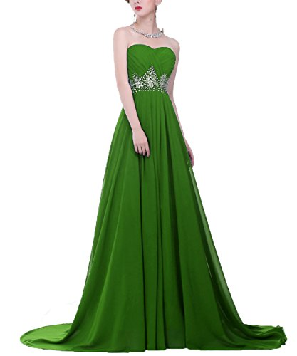 Tutu.Vivi Women's Strapless Prom Homecoming Dresses Long Beading Evening Ball Gown Paty Gowns (Zoey Green Camo)