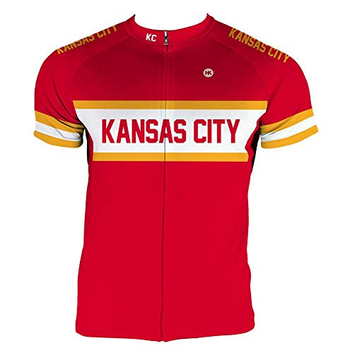 Kansas Bike Jersey - Hill Killer Kansas City Men's Cycling Jersey (XL)