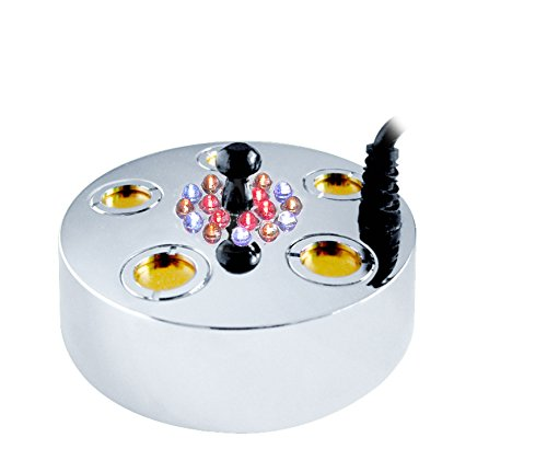 Benzara 5 Jet Super Pond Fogger Kit 15 LED Lights -