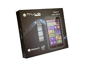 "TALIUS TABLET Zaphyr 8001W 8"" WINDOWS 8.1"