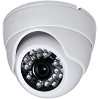 2 Megapixel 1080P Dome IR HD-CVI HD-TVI AHD CVBS 700TVL (4 options in 1) Camera 24IR 3.6mm lens Vandalproof Small Indoor Outdoor Aluminum Housing Security Camera for White Color