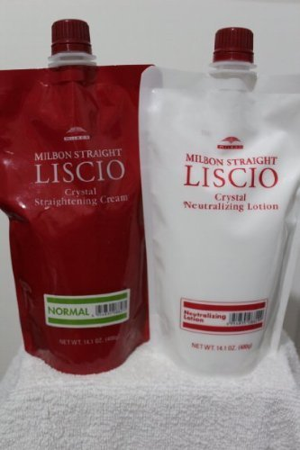 Liscio Crystal Cream Straighteners Amp Neutralizer Normal