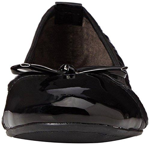 Butterfly Twists Olivia Noir Femmes Ballerine Flats Chaussures