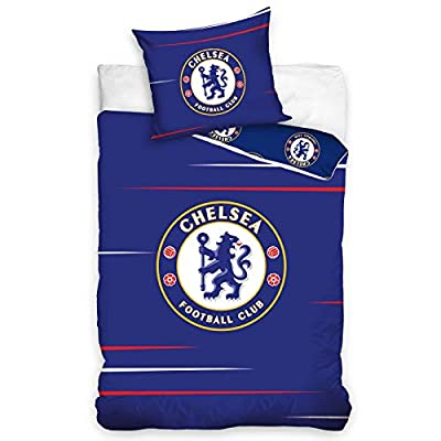 Chelsea FC Blue Single Cotton Duvet Cover Set