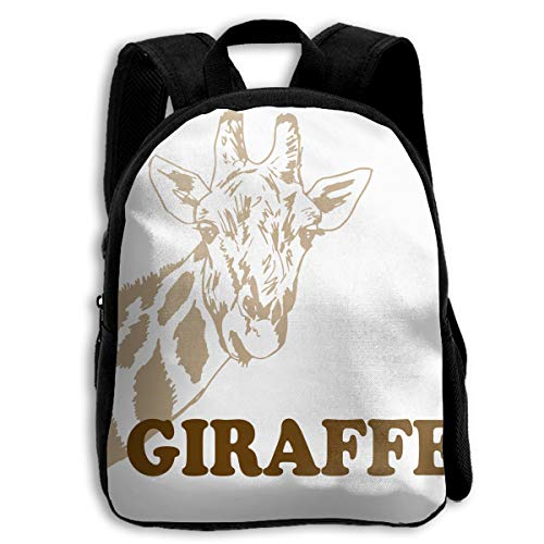 (Nanrijiafutongxundian Children'sFull-Width PrintingGiraffe CartoonSchool Backpack)