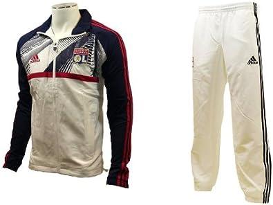 Adidas Olympique Lyonnais Lyon OL Chandal Niño Futbol: Amazon ...