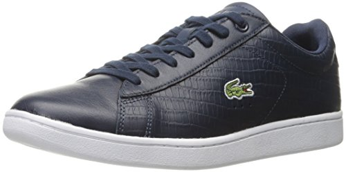 Sneaker Lacoste Mens Carnaby Evo Fashion In Rilievo