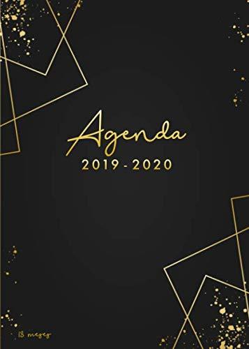 Agenda 2019-2020 18 meses: Organiza tu día - Agenda semanal - julio 2019 a diciembre 2020- español por Papeterie Collectif