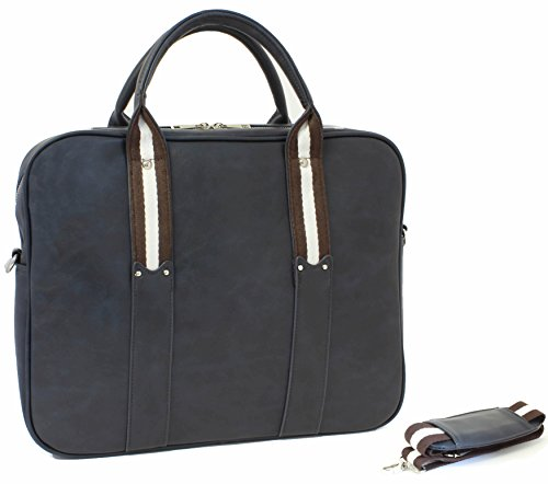 15 Inch Shoulder Bag / Briefcase - Computer Sleeve with h...