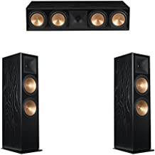 Klipsch 3.0 Black Ash System with 2 RF-7 III Floorstanding Speakers, 1 RC-64 III Center Speaker