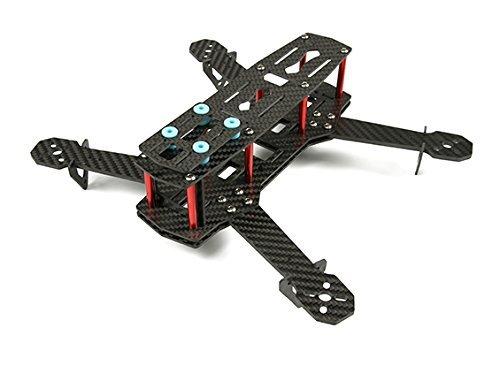RedJet 250 Carbon Fiber FPV Quadcopter Drone Racing Frame Kit ...
