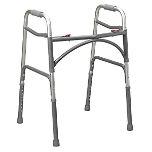 NRS Bariatric Lightweight Heavy Duty Folding Walking Frame (Eligible for VAT relief in the UK) 3