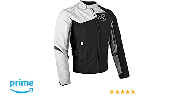 Speed and Strength Womens Womens Back Lash Black//White Textile Jacket 870684