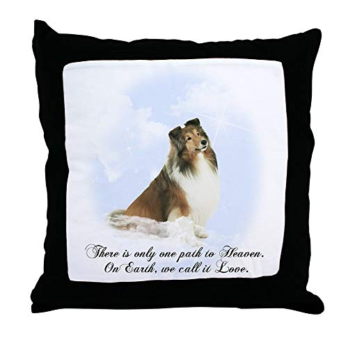 CafePress Heavenly Sheltie Decor Throw Pillow (18