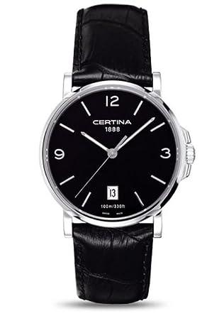 Certina Herren-Armbanduhr XL Analog Quarz Leder C017.410.16.057.00