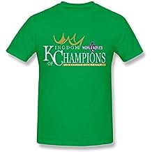 SPOW Men's Kansas City Royals Royal 2015 World Series Champions T-Shirt XXL