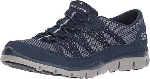 Skechers Women's Gratis-Strolling Sneaker, NVY, 9.5 M US (Ladies Sketcher Sneakers)