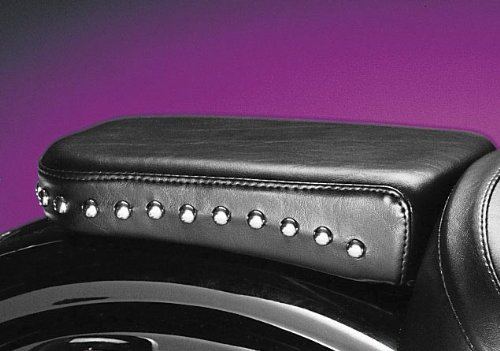 Studded Pillion Pad (Le Pera Sanora Custom Solo Seat Pillion Pad - Studded L-042)