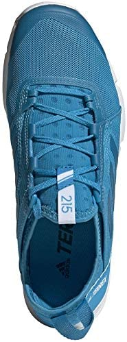 adidas Outdoor Womens Terrex Agravic Speed W Terrex Agravic, Womens, Shock Cyan/Shock Cyan/White, 9.5 B(M) US