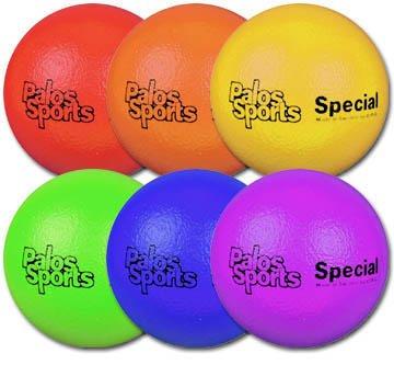 Palos RuffSKIN 8'' Multi-Ball Set of 6 by Palos Sports