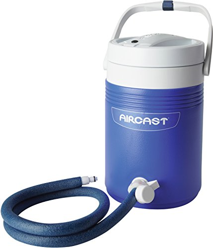 DonJoy Aircast Cryo/Cuff Cold Therapy: Non-Motorized (Gravity-Fed) Cooler with Tube Assembly