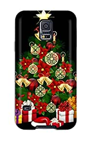 For Galaxy S5 Protector Case Create Christmas Widget Phone Cover