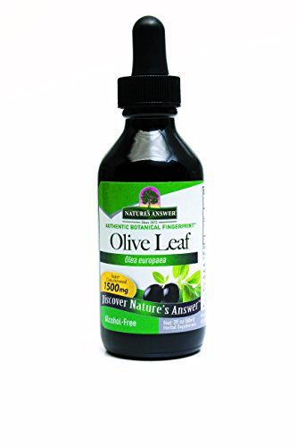Nature's Answer Alcohol-Free Oleopein Olive Leaf, 2-Fluid Ounces