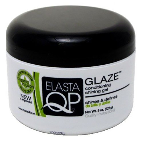 Qp Elasta Glaze - Elasta QP Glaze Conditioning Shining Gel Unisex by Elasta QP, 8 Ounce