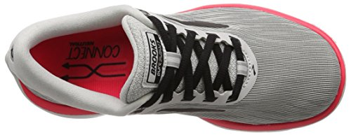 classic Brooks Womens PureFlow 7 Grey/Black/Pink shop free shipping low shipping comfortable for sale N175cC