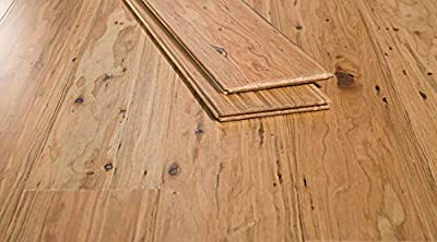 Ambient Bamboo - Eucalyptus Flooring Sample, Color: Tupelo Honey, Solid Strand Tongue and Groove