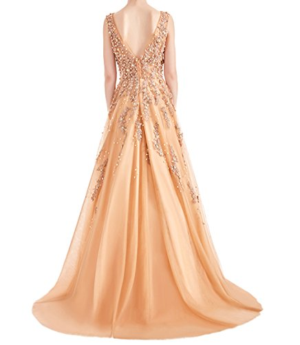 Z Sexy Appliques Prom Dresses Beaded Rhinestones Long Formal Evening Dress Party Gowns for Women at Amazon Womens Clothing store: