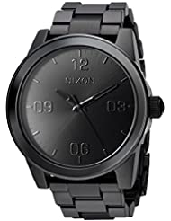 Nixon Womens G.I. SS Quartz Metal and Stainless Steel Watch, Color:Black (Model: A919001-00)