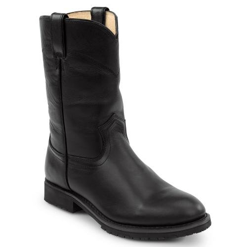 SR Max Odessa Men's Black Slip Resistant Cowboy Boot - 8.5 M