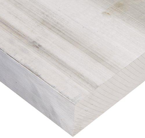 6061 Aluminum Rectangular Bar, Unpolished (Mill) Finish, T6511 Temper, Meets ASTM B221, 3/4