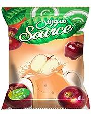 عصير سورس بودرة بنكهة التفاح الاحمر، 900 جم