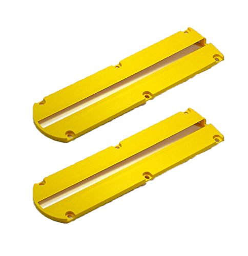 Dewalt DW703/DW704/Dw705/DW715/DW716 Miter Saw Replacement (2 Pack) Kerf Plate # 146726-02-2pk by DEWALT