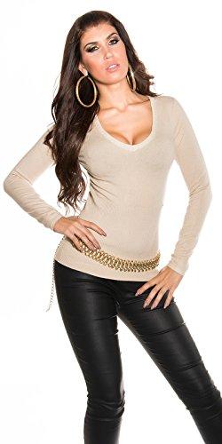 In-Stylefashion - Jerséi - para mujer Beige