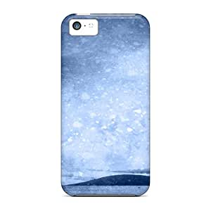 Premium Iphone 5c Case - Protective Skin - High Quality For Beach Silhouette