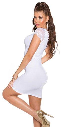 In - Stylefashion - Vestido - Manga corta - para mujer blanco