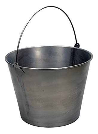 Vestil Bkt Ss 500 Stainless Steel Bucket  Gallon 57 Pound Capacity Ice Buckets Amazon Com Industrial Scientific
