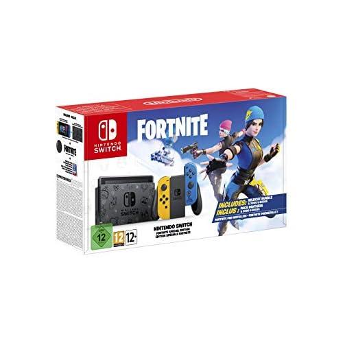 chollos oferta descuentos barato Nintendo Switch HW Edición Fortnite