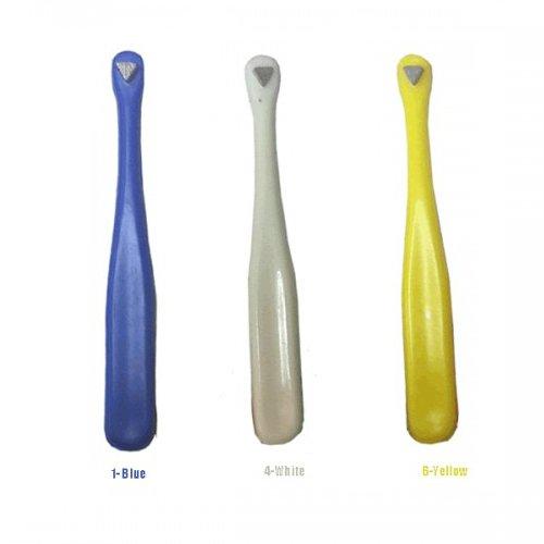 - 3 Pcs Dental Molar Band Seater Serrated Tip Orthodontics Instruments (Assorted Colors)